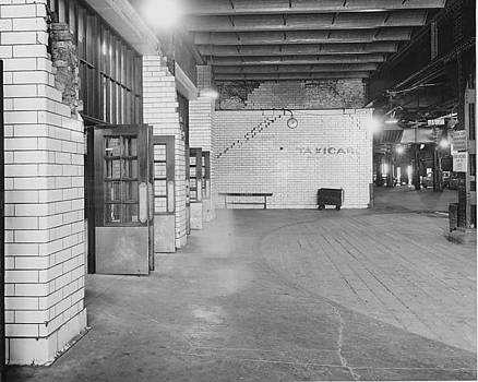Chicago and North Western Historical Society - Beneath the Chicago Passenger Terminal - 1961