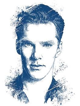 Benedict Cumberbatch Portrait by Chad Lonius