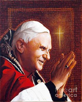 Louis Glanzman - Benedict XVI - LGBEN