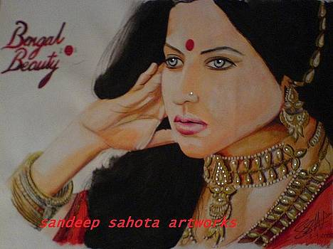 Bengal Beauty by Sandeep Kumar Sahota