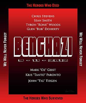 Benghazi 9-11-2012 by Robert J Sadler