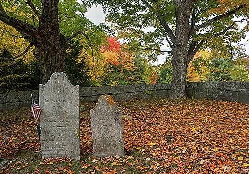 Benjamin Butler Grave by Wayne Marshall Chase
