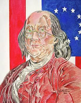 Benjamin Franklin by John Keaton