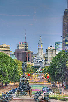 David Zanzinger - Benjamin Franklin Parkway City Hall Vertical