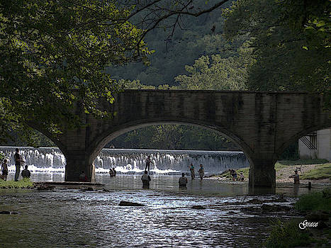 Bennett Springs Bridge by Julie Grace