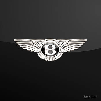 Serge Averbukh - Bentley - 3 D Badge On Black