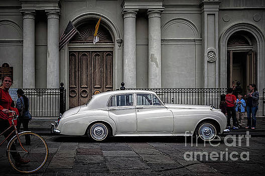 Kathleen K Parker - Bentley Waits for Bride - St. Louis Cathedral- NOLA