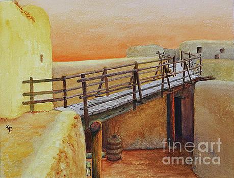 Bent's Old Fort by Karen Fleschler