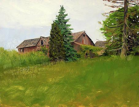 Bentz Family Farm House. Cedarburg WI by Anthony Sell