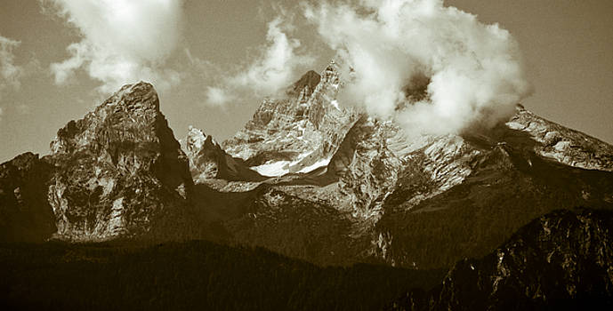 Berchtesgaden Mountains by Frank Tschakert