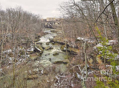 Berea Falls, Berea, Ohio USA by Brian Mollenkopf