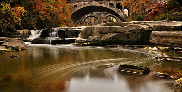 Berea Falls by Jeff Burcher