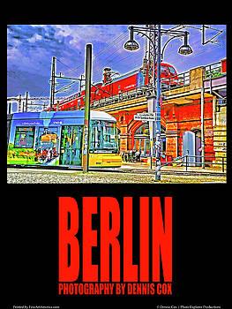 Dennis Cox Photo Explorer - Berlin Travel Poster
