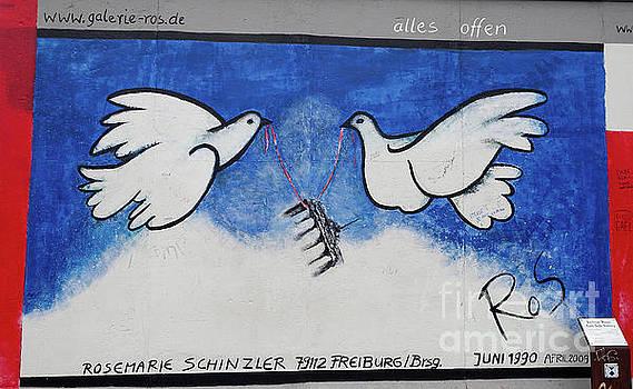 Berlin Wall Doves by Stephen Schwiesow