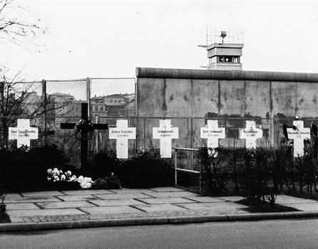 Berlin Wall Memorial Crosses by SR Green