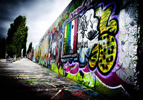 Berlin Wall by Thomas Kessler