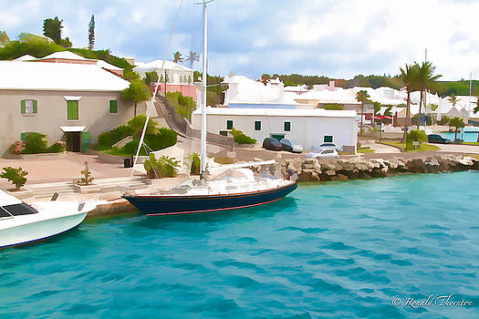 Bermuda Sail by Ron Thornton