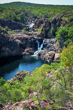 Bernang lookout, Edith Falls, Australia by Daniela Constantinescu