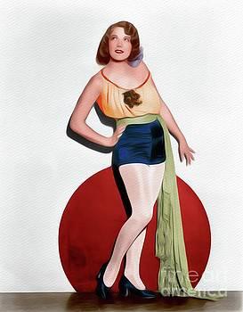 John Springfield - Bernice Claire, Vintage Movie Star
