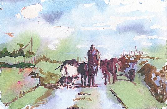 Bernie on the Road by Kathleen Barnes