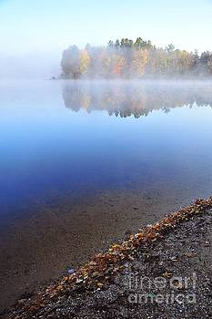 Terri Gostola - Berry Lake in the Fog