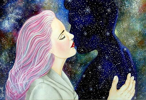 Besando Al Cosmos by Carmen Junyent