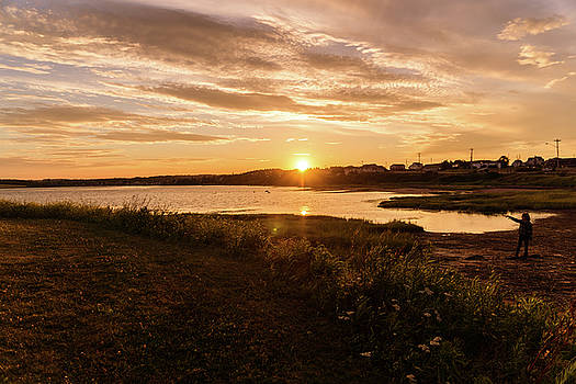 Besides North Rustico Harbor by Chris Bordeleau