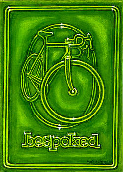 Bespoked in lime  by Mark Howard Jones