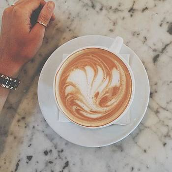 Best Coffee This Girl Has Ever Had. // by Kristen Holbrook