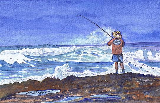 Best Spot On The Reef by Michele Ross