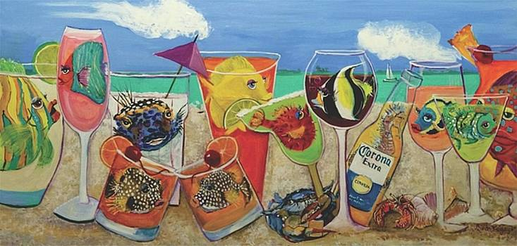 Bestfins Beach Party by Linda Kegley