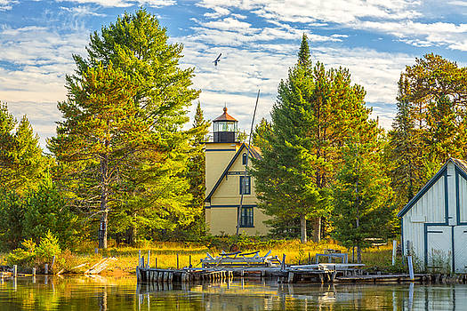 Jack R Perry - Bete Grise Lighthouse