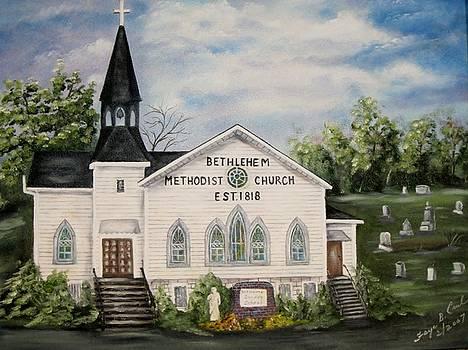 Bethlehem Methodist Church by Faye Creel
