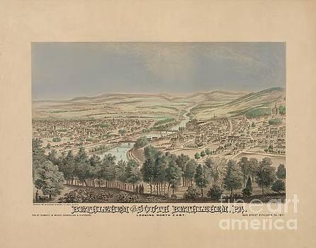 Schwartz-Weaver - Titchenal - Bethlehem Pennsylvania Birdseye Print