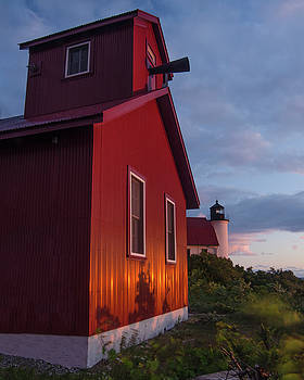 Betsie Point Sunset by Thomas Pettengill
