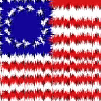 Bill Owen - Betsy Ross 1776 Flag Abstract