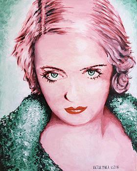 Bette Davis by Victor Minca