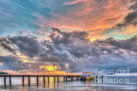 Better Belize the Rain Clouds by David Zanzinger