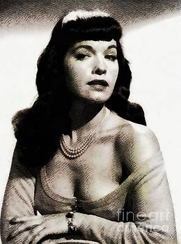 John Springfield - Bettie Page, Pinup Model