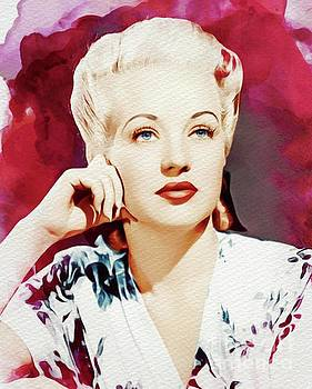 John Springfield - Betty Grable, Movie Legend and Pinup