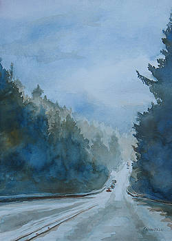 Jenny Armitage - Between the Showers on HWY 101
