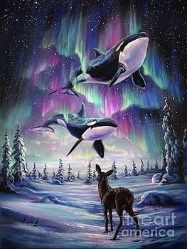 Between The Worlds by Anne Koivumaki - Fine Art Anne