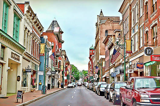Beverley Historic District - Staunton Virginia - Art of the Small Town by Kerri Farley