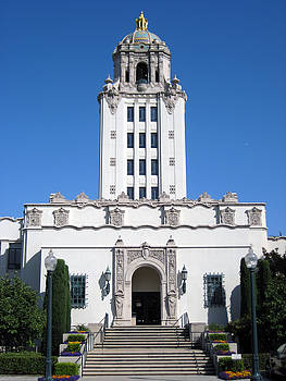 Beverly Hills City Hall by Sean Owens