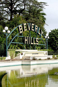 Art Block Collections - Beverly Hills Reflection