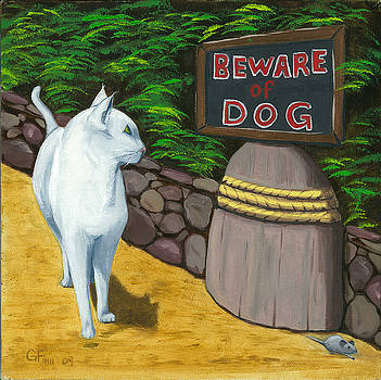 Beware Of Dog by Gail Finn
