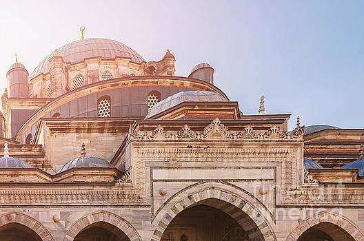 Sophie McAulay - Beyazit mosque Istanbul