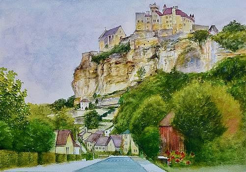 Beynac Chateau and Village by Dai Wynn