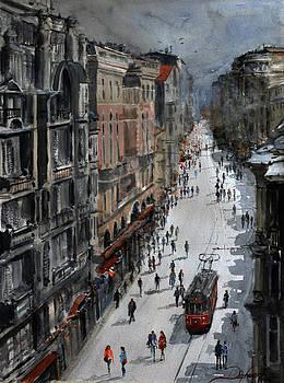 Beyoglu Street / Istanbul by Dogan Soysal