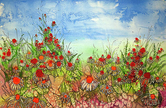 Beyond the Flowers by Shirley Sykes Bracken